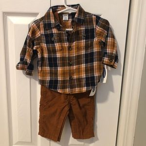 Old Navy baby boy Overall Outfit